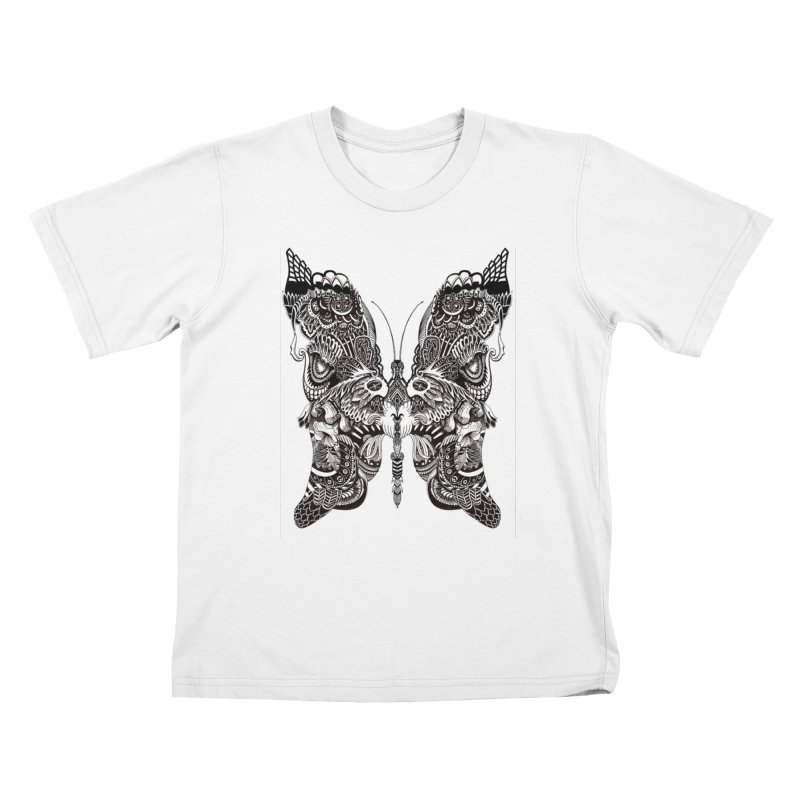 Butterfly Kids T-Shirt by owenmaidstone's Artist Shop