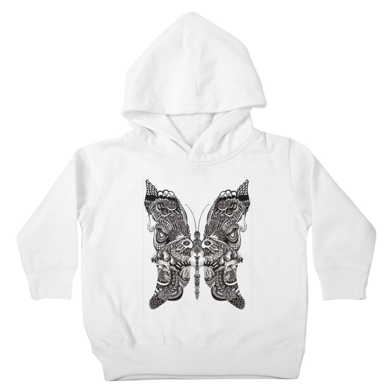 Butterfly Kids Toddler Pullover Hoody by owenmaidstone's Artist Shop