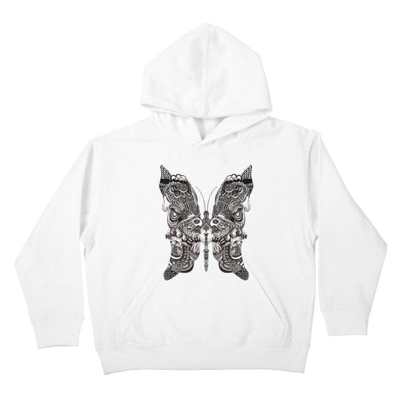 Butterfly Kids Pullover Hoody by owenmaidstone's Artist Shop