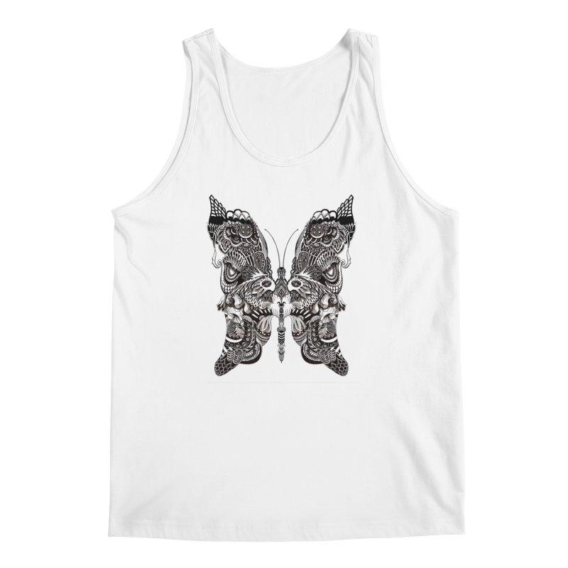 Butterfly Men's Regular Tank by owenmaidstone's Artist Shop