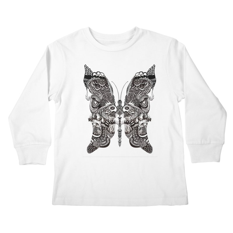 Butterfly Kids Longsleeve T-Shirt by owenmaidstone's Artist Shop