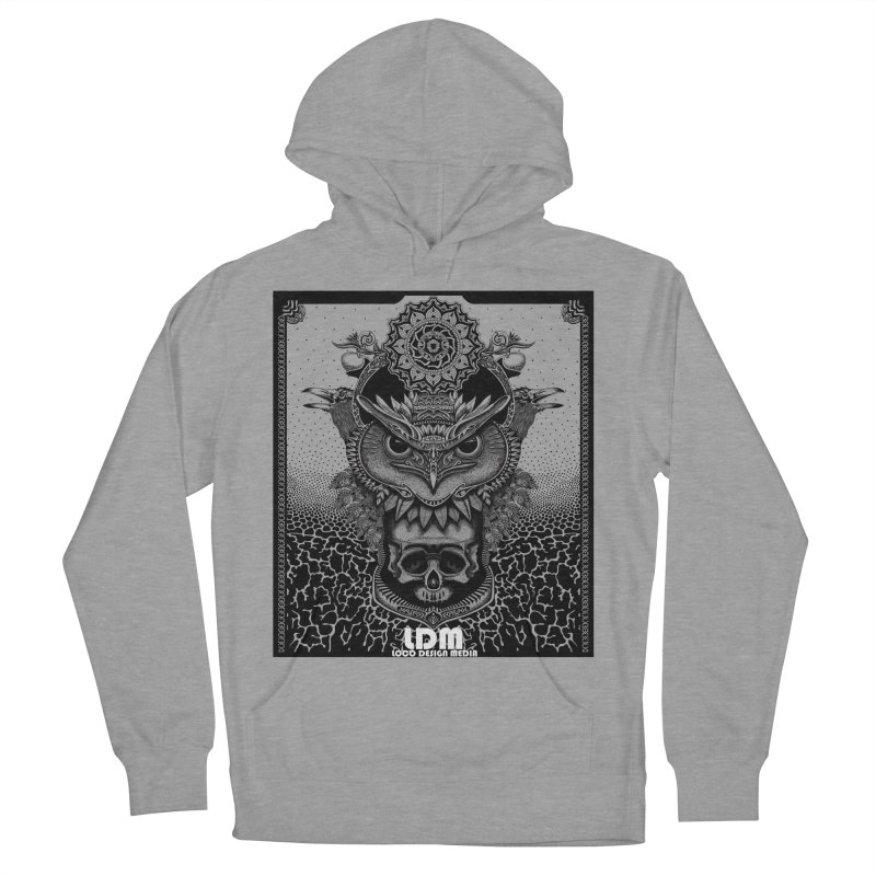 Owl_2016 Men's French Terry Pullover Hoody by owenmaidstone's Artist Shop
