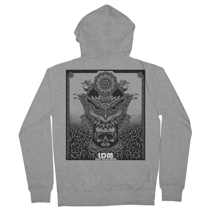 Owl_2016 Women's French Terry Zip-Up Hoody by owenmaidstone's Artist Shop