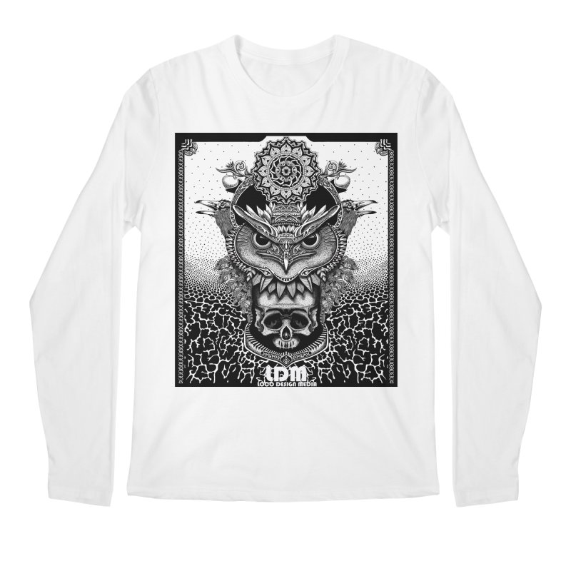Owl_2016 Men's Longsleeve T-Shirt by owenmaidstone's Artist Shop
