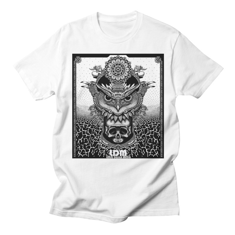 Owl_2016 in Men's Regular T-Shirt White by owenmaidstone's Artist Shop