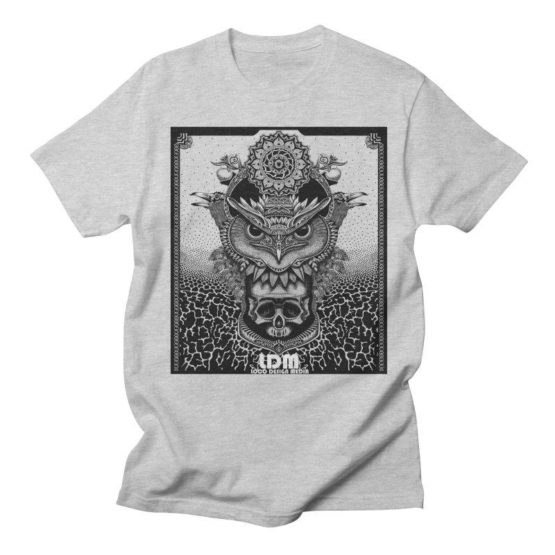 Owl_2016 Men's Regular T-Shirt by owenmaidstone's Artist Shop