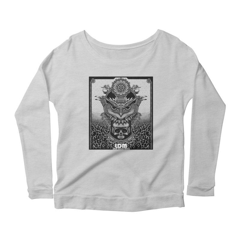 Owl_2016 Women's Scoop Neck Longsleeve T-Shirt by owenmaidstone's Artist Shop
