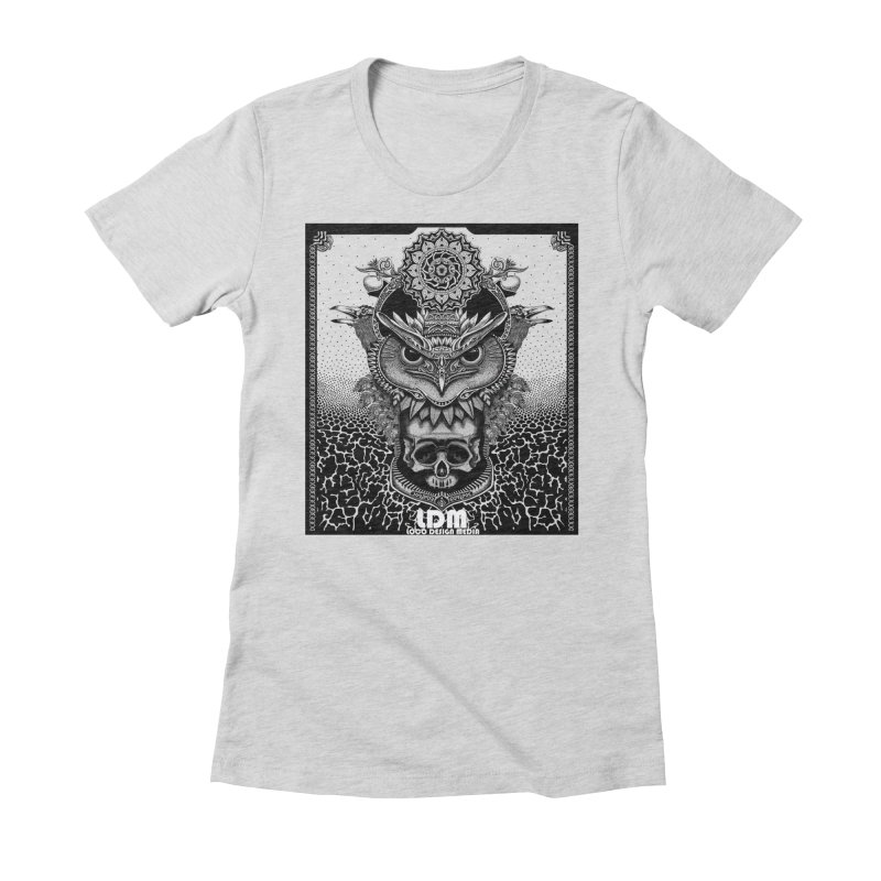 Owl_2016 Women's Fitted T-Shirt by owenmaidstone's Artist Shop