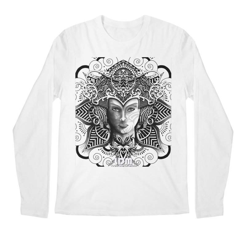 Flower_Face Men's Longsleeve T-Shirt by owenmaidstone's Artist Shop