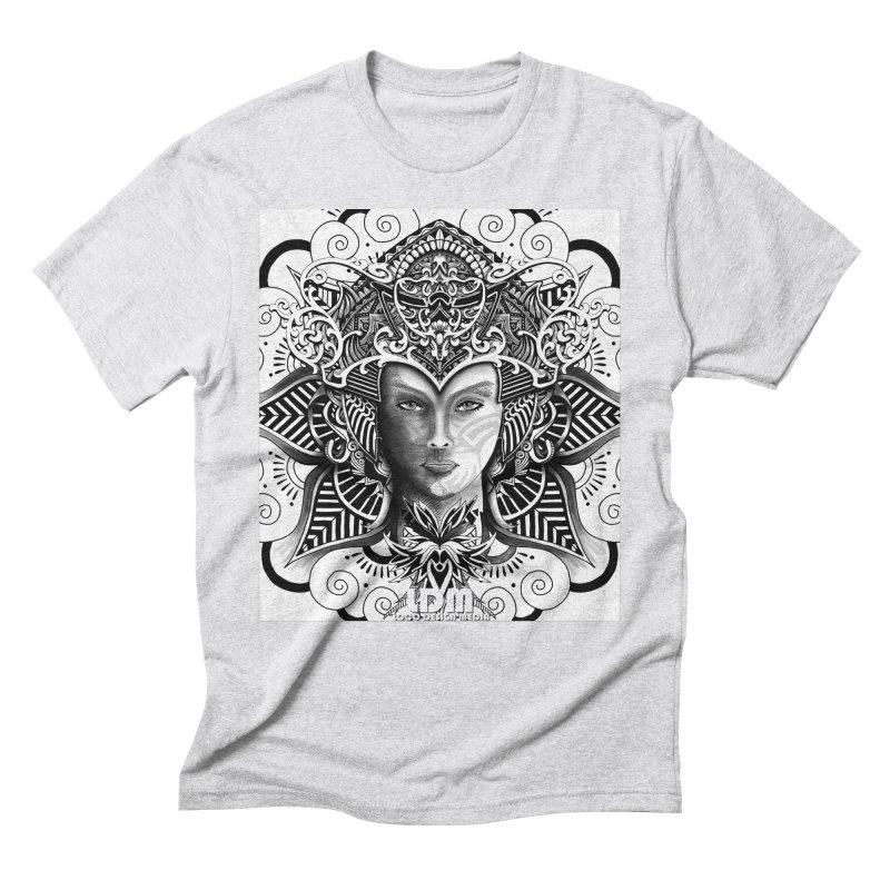Flower_Face Men's Triblend T-Shirt by owenmaidstone's Artist Shop