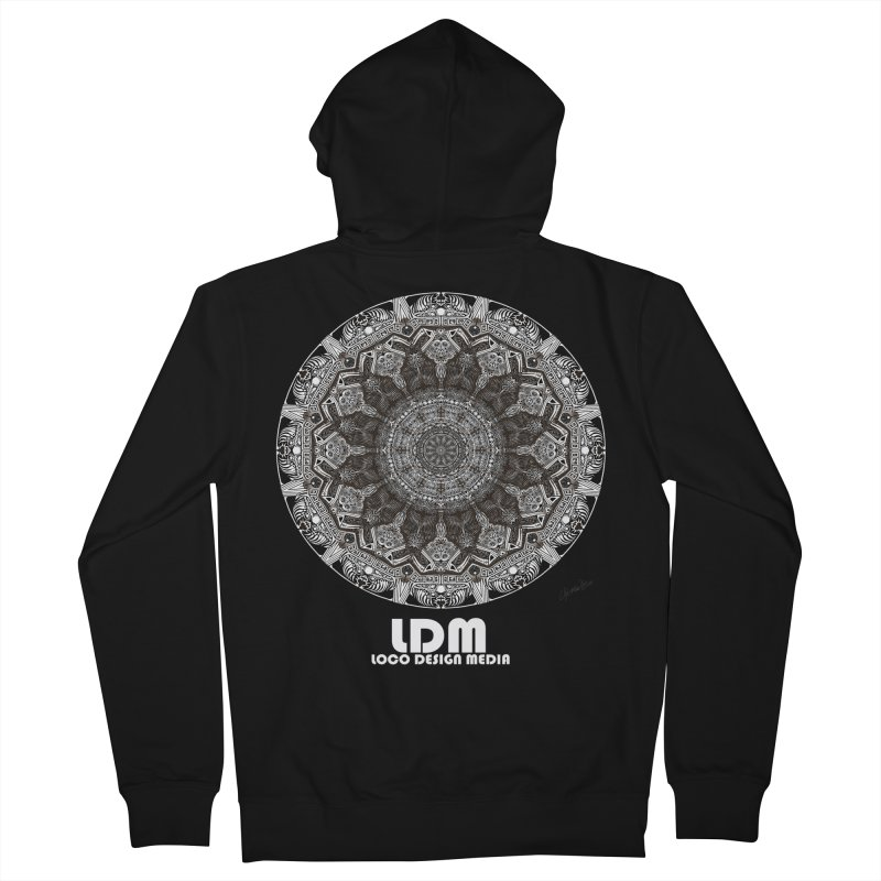 No_Way_Out Men's Zip-Up Hoody by owenmaidstone's Artist Shop
