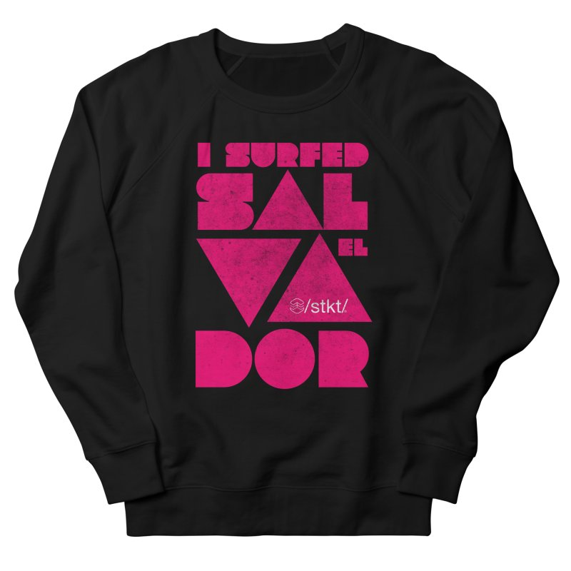 I surfed El Salvador Men's Sweatshirt by owik's Artist Shop