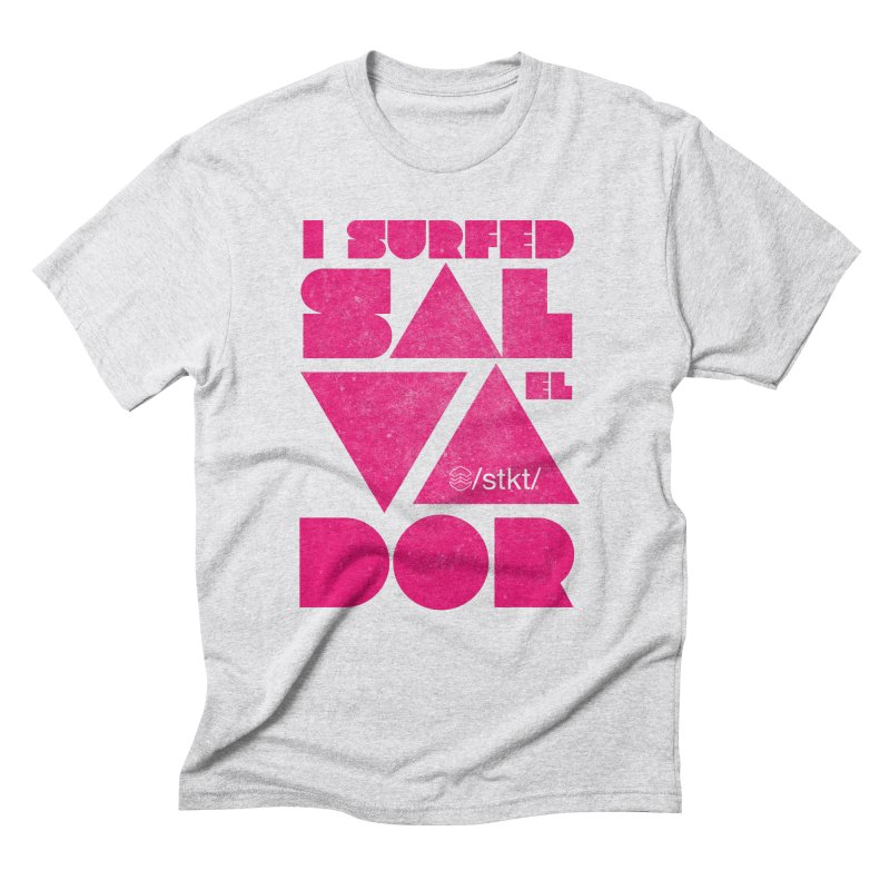 I surfed El Salvador Men's Triblend T-Shirt by owik's Artist Shop