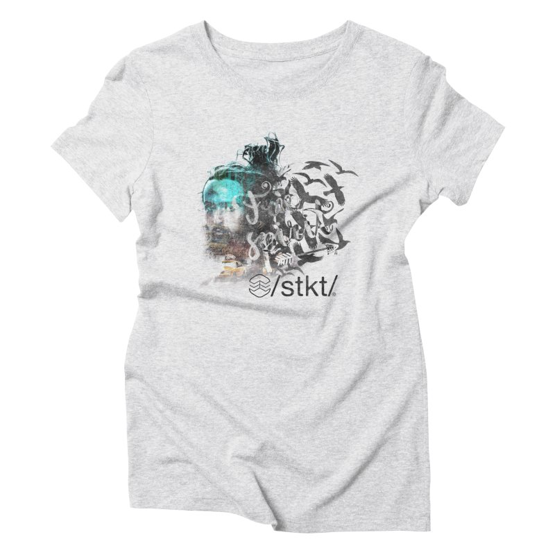 Free Spirit  Women's Triblend T-Shirt by owik's Artist Shop