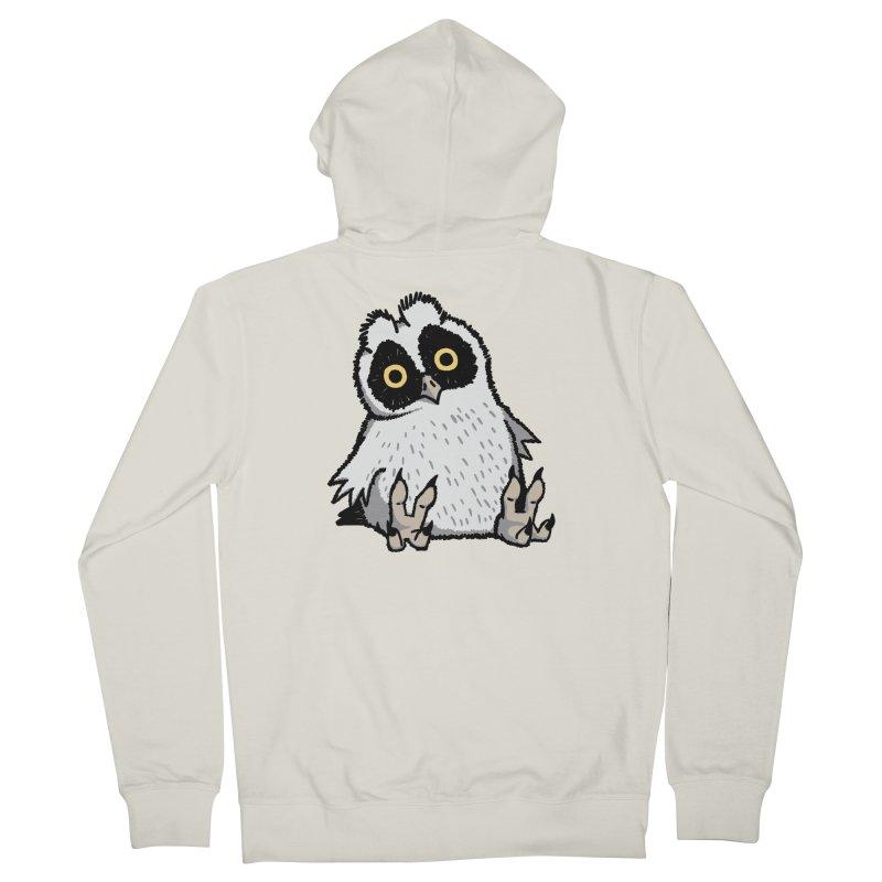 Curious Owlet Men's Zip-Up Hoody by Owl Basket