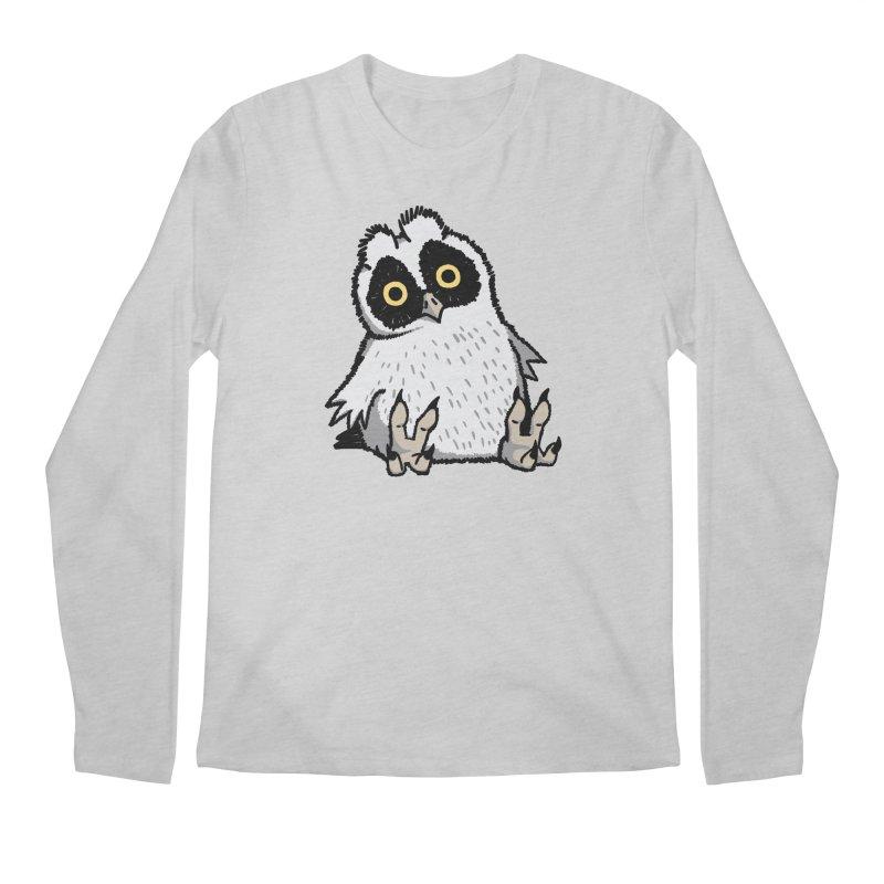 Curious Owlet Men's Longsleeve T-Shirt by Owl Basket