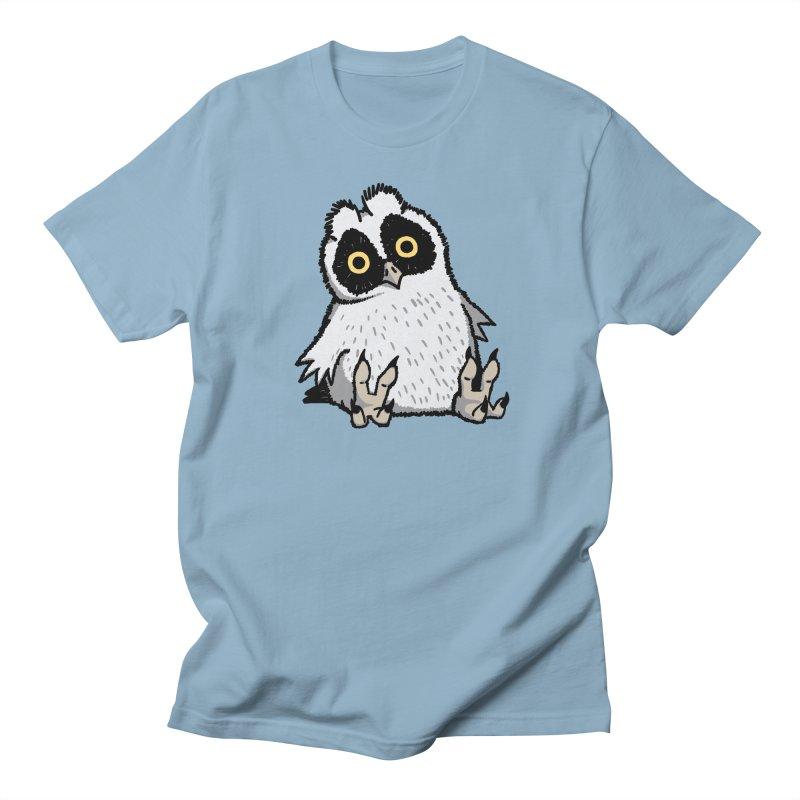 Curious Owlet Men's T-Shirt by Owl Basket