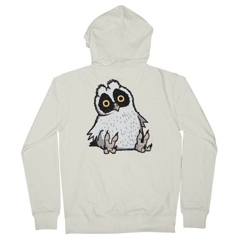 Curious Owlet Men's French Terry Zip-Up Hoody by Owl Basket