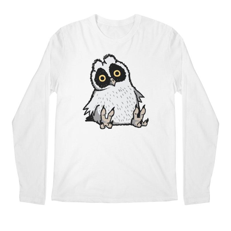 Curious Owlet Men's Regular Longsleeve T-Shirt by Owl Basket