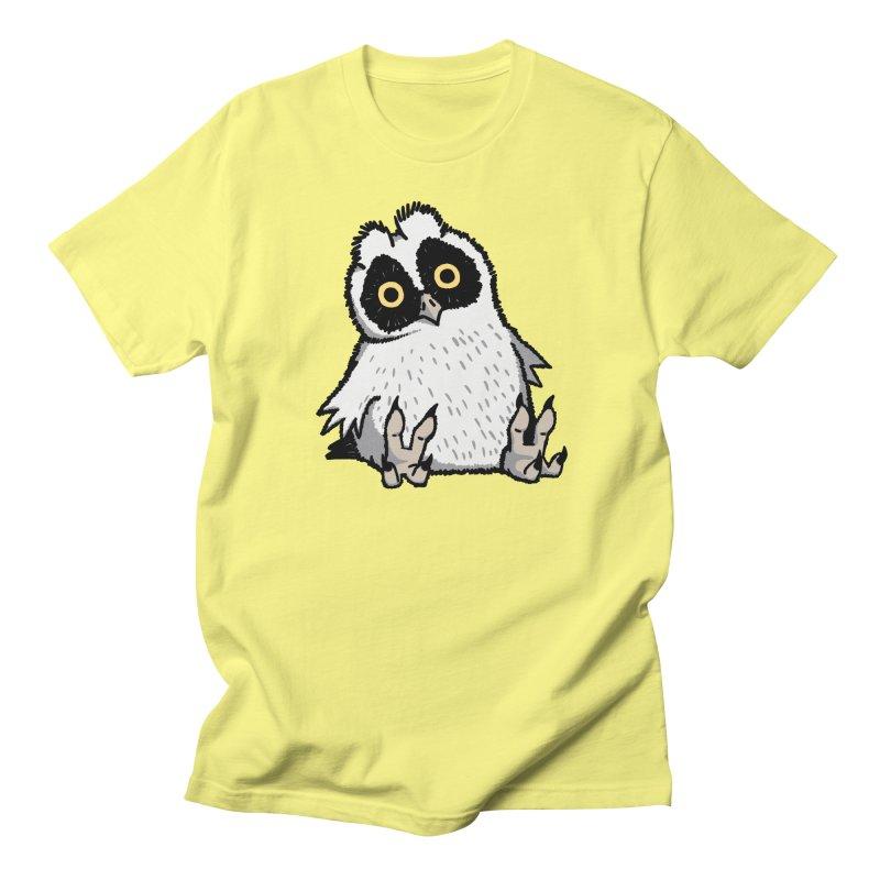 Curious Owlet Men's Regular T-Shirt by Owl Basket