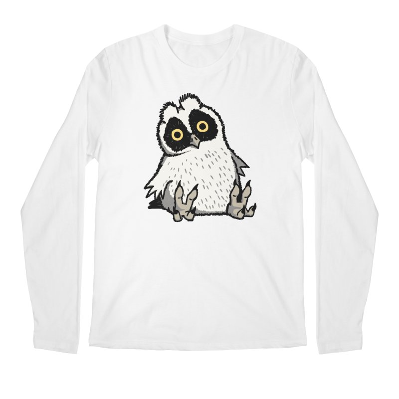 Curious Owlet Men's Regular Longsleeve T-Shirt by Owl Basket