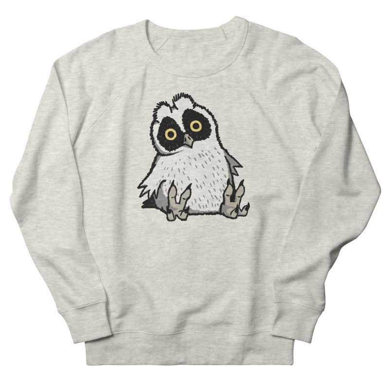 Curious Owlet Men's French Terry Sweatshirt by Owl Basket