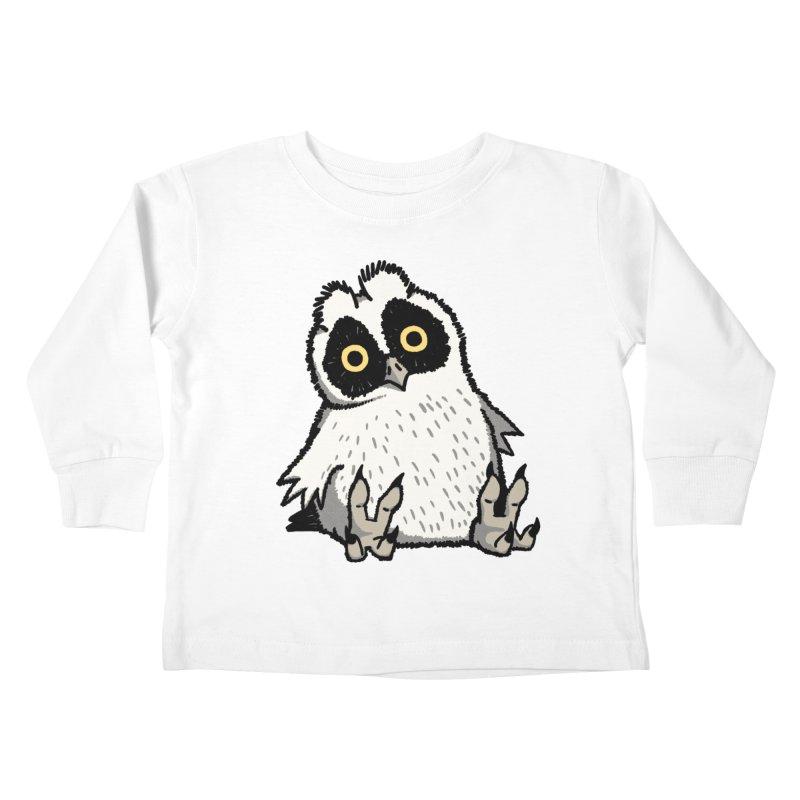 Curious Owlet Kids Toddler Longsleeve T-Shirt by Owl Basket