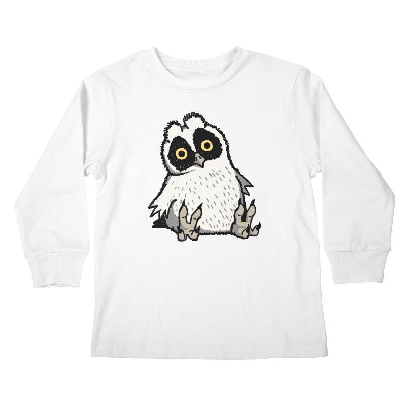 Curious Owlet Kids Longsleeve T-Shirt by Owl Basket