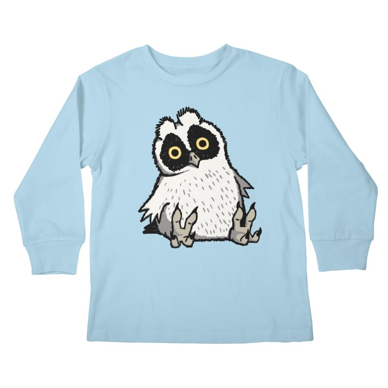 Curious Owlet Kids Longsleeve T-Shirt by Owl Basket