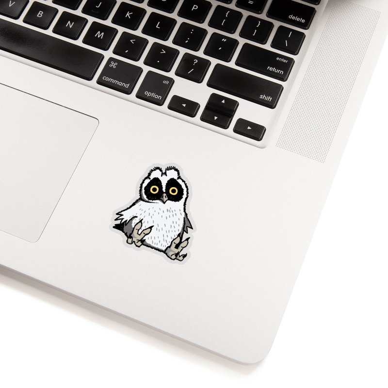 Curious Owlet Accessories Sticker by Owl Basket