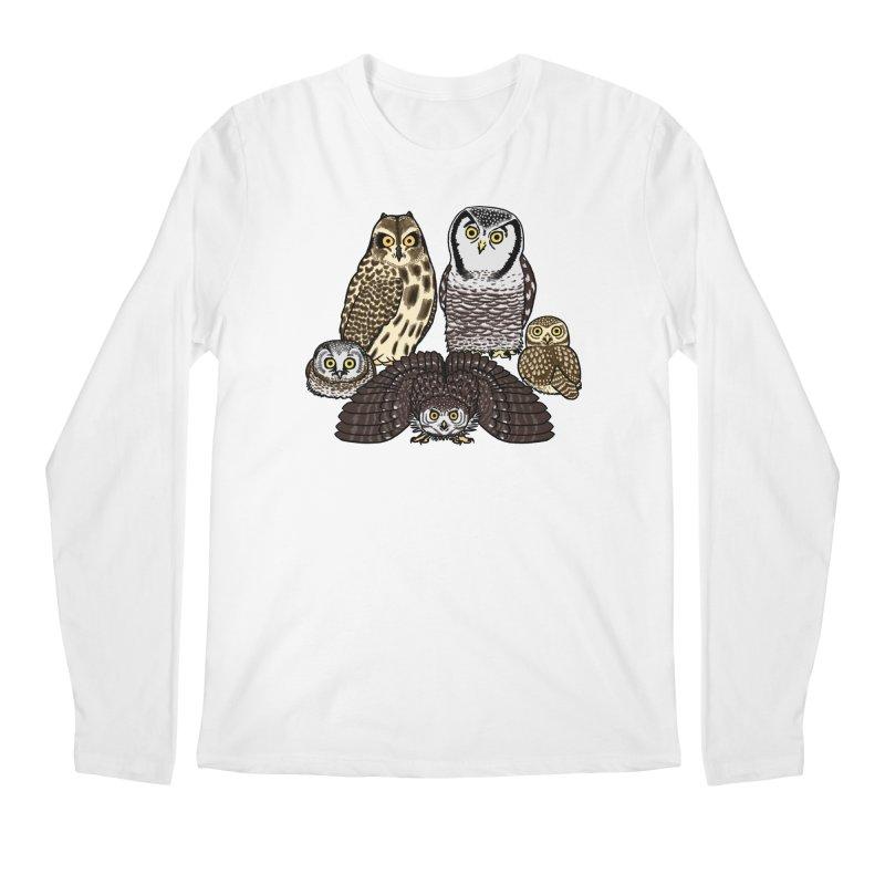 Little Parliament Men's Regular Longsleeve T-Shirt by Owl Basket