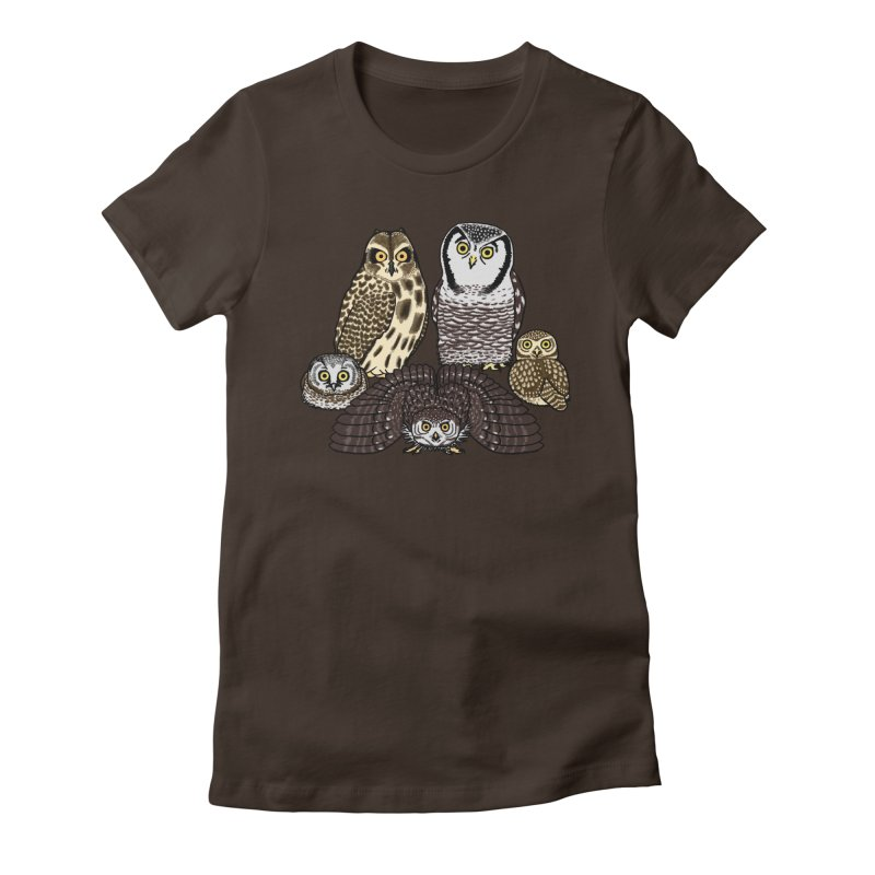 Little Parliament Women's Fitted T-Shirt by Owl Basket