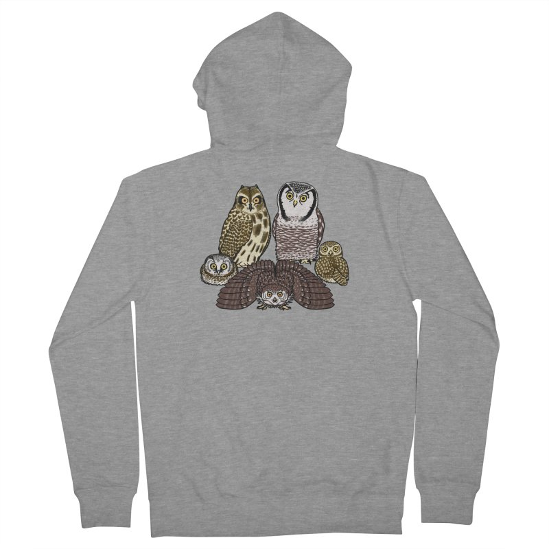 Little Parliament Men's French Terry Zip-Up Hoody by Owl Basket
