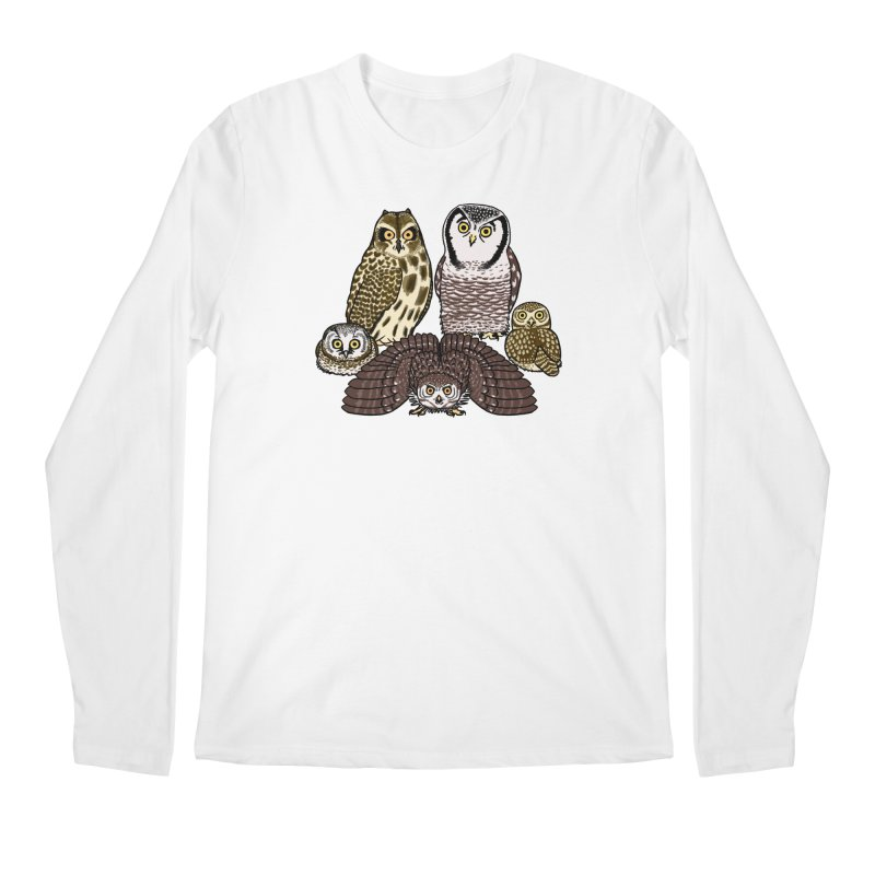 Little Parliament Men's Regular Longsleeve T-Shirt by Owl Basket