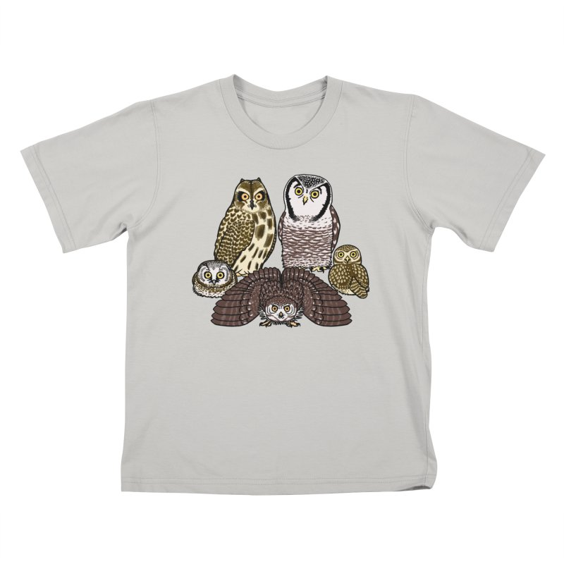 Little Parliament in Kids T-Shirt Stone by Owl Basket