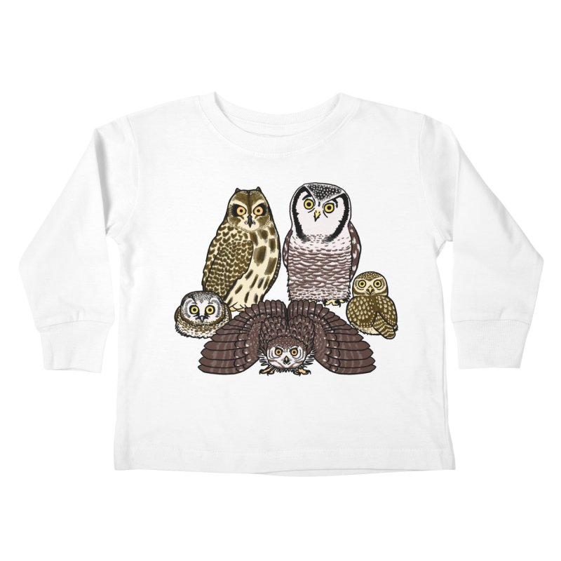 Little Parliament Kids Toddler Longsleeve T-Shirt by Owl Basket