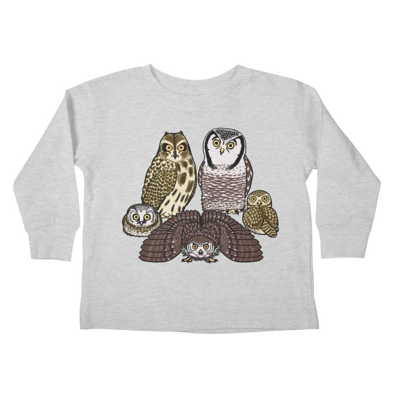 Little Parliament Kids Toddler Longsleeve T-Shirt by Owl Basket