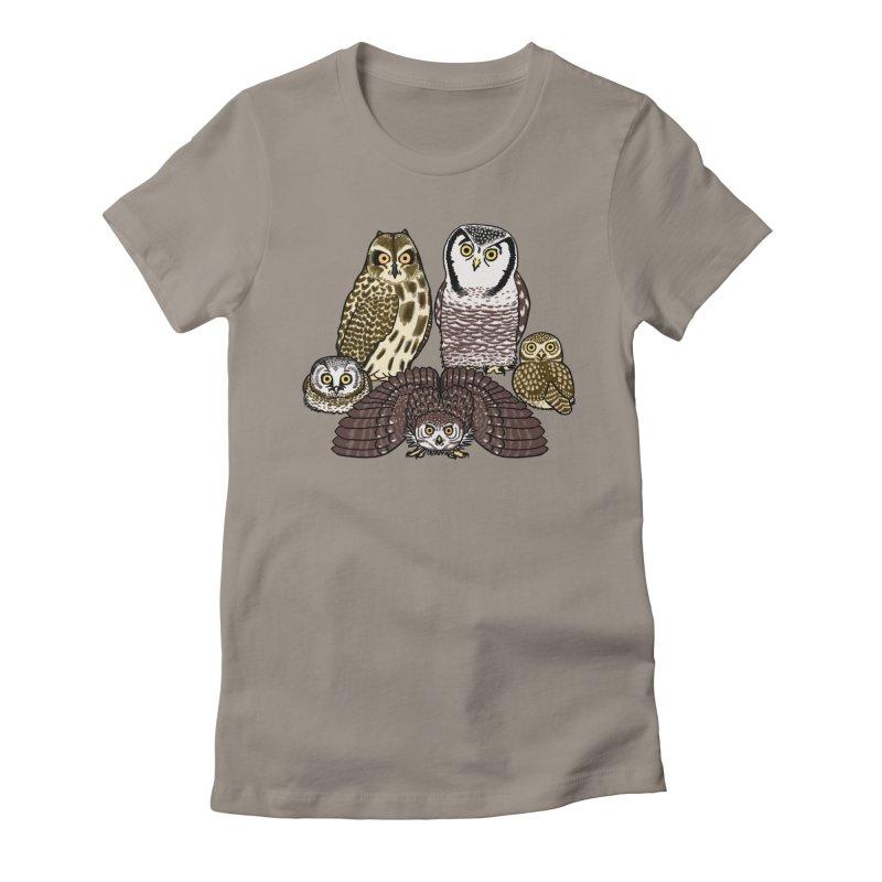 Little Parliament Women's T-Shirt by Owl Basket