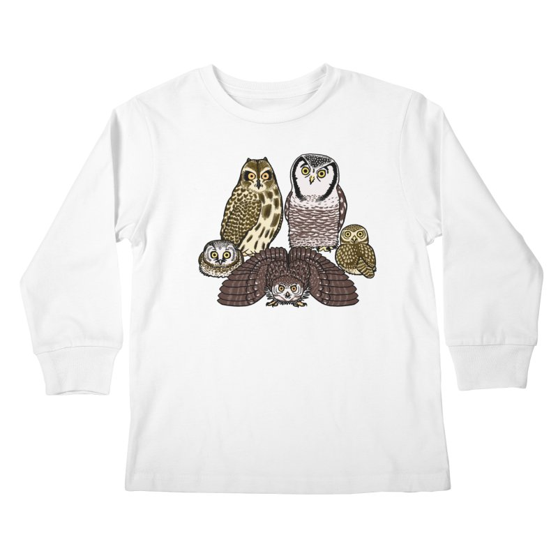 Little Parliament Kids Longsleeve T-Shirt by Owl Basket