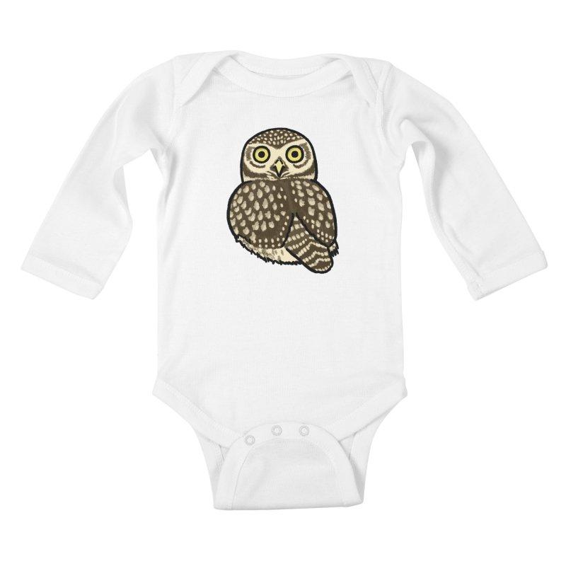 Little Owl Kids Baby Longsleeve Bodysuit by Owl Basket