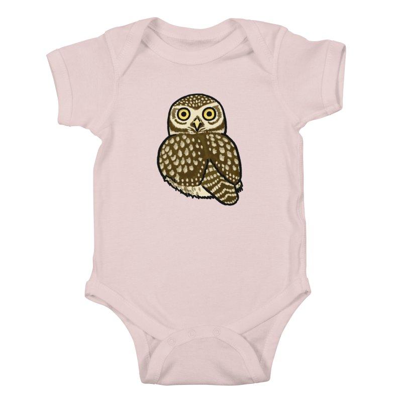 Little Owl Kids Baby Bodysuit by Owl Basket