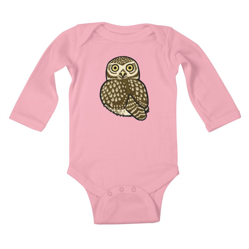 Little Owl Kids Baby Longsleeve Bodysuit by Owl Basket