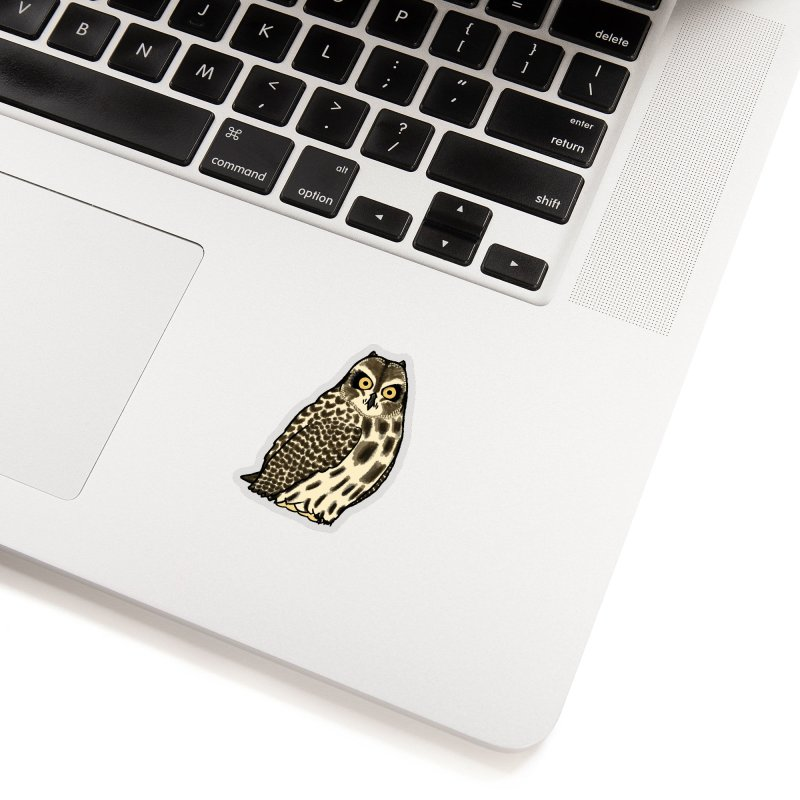 Short-eared Owl Stickers Sticker by Owl Basket