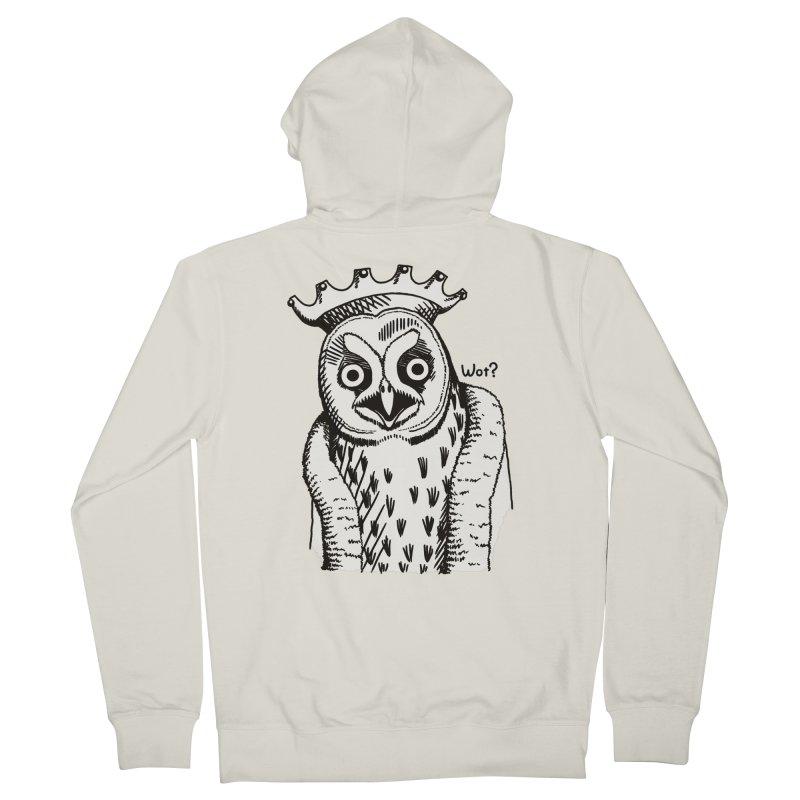 Wot Lord Women's Zip-Up Hoody by Owl Basket
