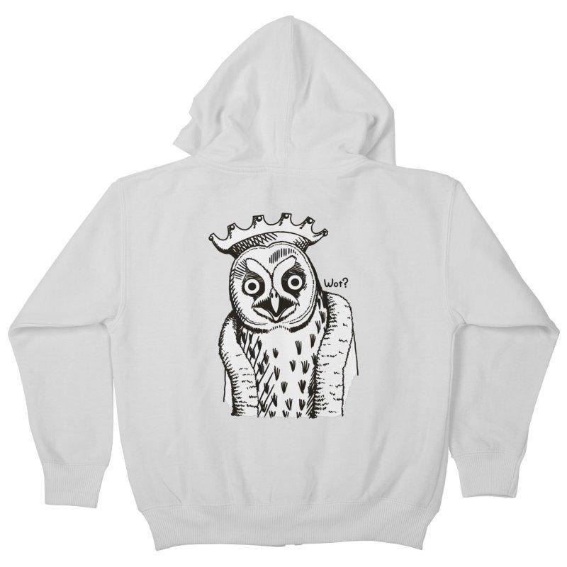 Wot Lord Kids Zip-Up Hoody by Owl Basket