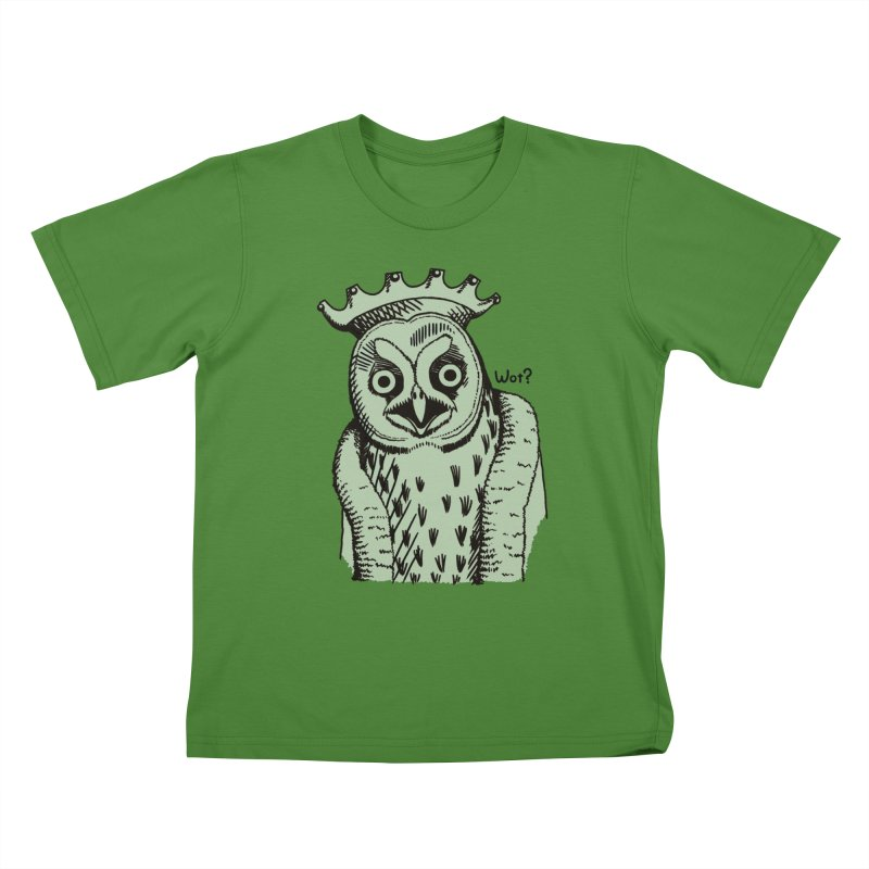 Wot Lord in Kids T-Shirt Clover by Owl Basket