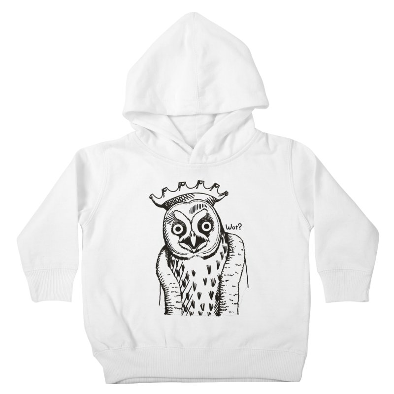 Wot Lord Kids Toddler Pullover Hoody by Owl Basket