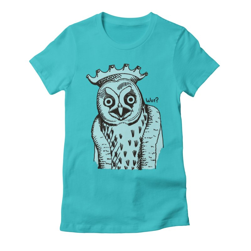 Wot Lord Women's Fitted T-Shirt by Owl Basket