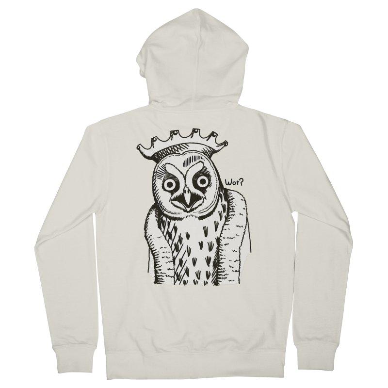 Wot Lord Men's Zip-Up Hoody by Owl Basket