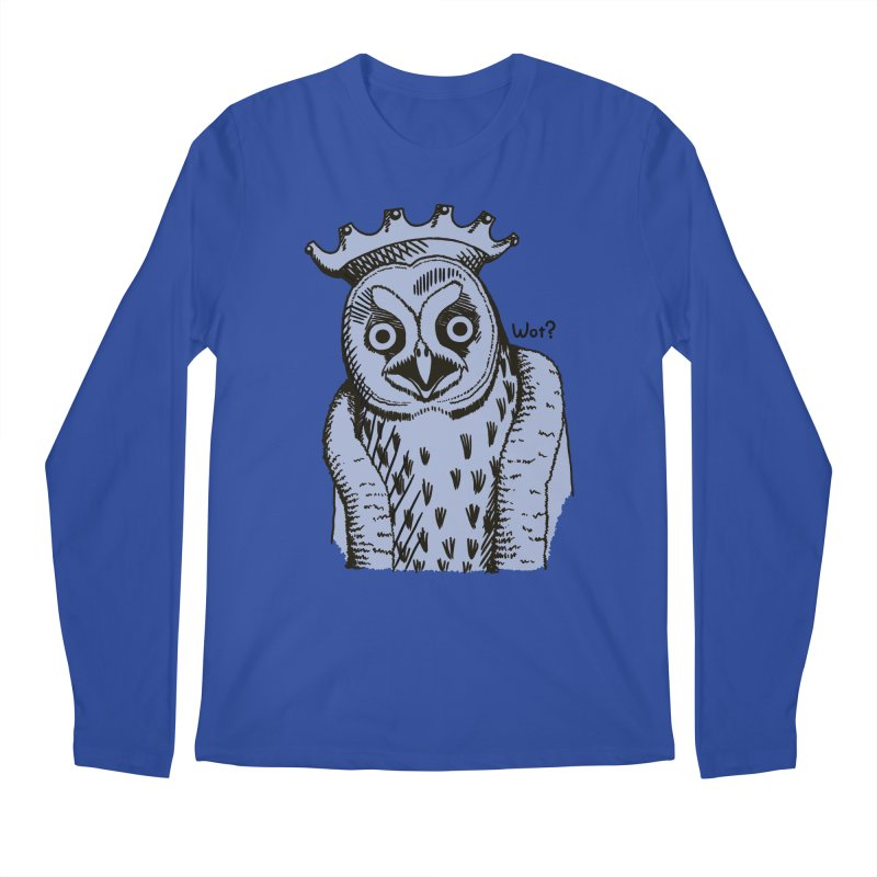 Wot Lord Men's Longsleeve T-Shirt by Owl Basket